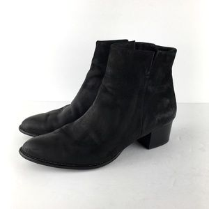 Paul Green Black Munchen Ankle Boots Size US 10.5